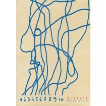 Dekalog – Lebensweg Sebastian Kubica Polnische Plakate