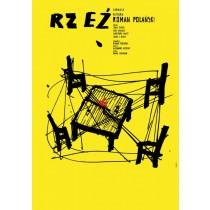 Gott des Gemetzels Roman Polański Sebastian Kubica Polnische Plakate