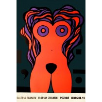 Poster Galerie Florian Zieliński Jan Lenica Polnische Plakate