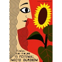 Gartenfest 13. Patrycja Longawa Polnische Plakate