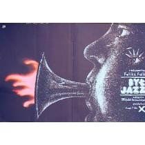 Es war einmal der Jazz Feliks Falk Lech Majewski Polnische Plakate
