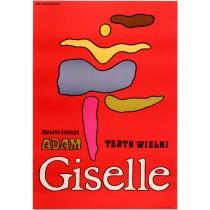 Giselle. Théophile Gautier Jan Młodożeniec Polnische Plakate