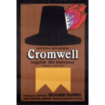 Cromwell - Der Unerbittliche Jan Młodożeniec Polnische Plakate