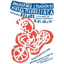 Zweite Frühstück mit Poster von Piotr Młodożeniec Piotr Młodożeniec Polnische Plakate