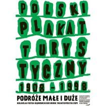 Kleine und große Reisen Piotr Młodożeniec Polnische Plakate