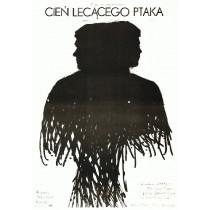 Schatten des fliegenden Vogels Jaroslav Balik Jacek Neugebauer Polnische Plakate