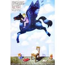 Ale Kino! 17. Kinderfilmfestival Rafał Olbiński Polnische Plakate