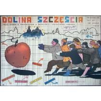 Tal des Glücks Krzysztof Nowak Andrzej Pągowski Polnische Plakate