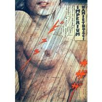 Im Reich der Leidenschaft Nagisa Oshima Andrzej Pągowski Polnische Plakate