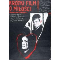 Kurzer Film über die Liebe, Krzysztof Kieślowski Andrzej Pągowski Polnische Plakate