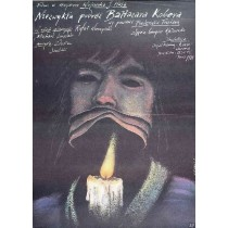 Ungewöhnliche Reise des Baltasar Kober Wojciech Has Andrzej Pągowski Polnische Plakate
