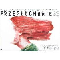Verhör einer Frau Ryszard Bugajski Andrzej Pągowski Polnische Plakate