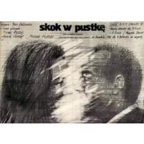 Sprung ins Leere Marco Bellocchio Andrzej Pągowski Polnische Plakate