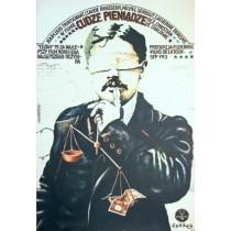 Geld der anderen Christian de Chalonge Marek Płoza-Doliński Polnische Plakate