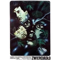 Spiegel Andrei Tarkovsky Marek Płoza-Doliński Polnische Plakate