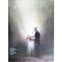 Vor dem Juwelierladen Karol Wojtyła Jan Jaromir Aleksiun Polnische Plakate