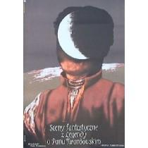 Fantastische Szenen aus der Legende des Pan Twardowski Jan Jaromir Aleksiun Polnische Plakate