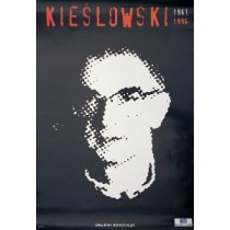 Krzysztof Kieślowski Schwarz Jan Bokiewicz Polnische Plakate