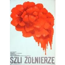 Krieg ist kein Abzählspiel Leonid Bykov Wanda Jondziel-Banach Polnische Plakate