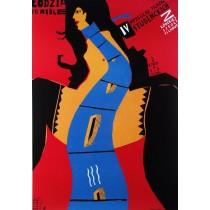 Studentenfilmfestival Piotr Kossakowski Polnische Plakate