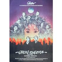 Mondsüchtig Norman Jewison Mirosław Łakomski Polnische Plakate