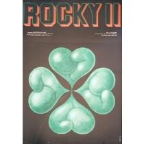 Rocky II Sylvester Stallone Edward Lutczyn Polnische Plakate