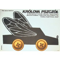Bienenkönigin Janusz Nasfeter Elżbieta Procka Polnische Plakate