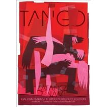 Tango tanz mit uns Elżbieta Chojna Polnische Plakate