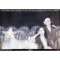 Theaterkonfrontationen Opole - 23. Andrzej Sznejweis Polnische Plakate