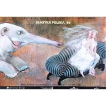 Theaterkonfrontationen Opole -24. Andrzej Sznejweis Polnische Plakate