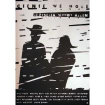 Schatten und Nebel Woody Allen Elżbieta Wojciechowska Polnische Plakate