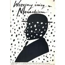 Früher Schnee in München Bogdan Zizic Jaime Carlos Nieto Polnische Plakate