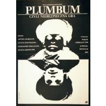 Plumbum oder gefährliches Spiel Vadim Abdrashitov Janusz Obłucki Polnische Plakate