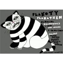 PlaKatzen Karolina Gładkiewicz Polnische Plakate