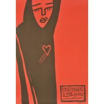 Sprich mit ihr Pedro Almodovar Weronika Ratajska Polnische Plakate