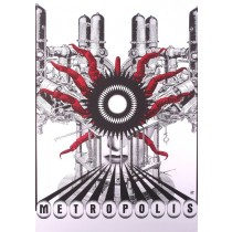 Metropolis Fritz Lang Bogna Otto-Wegrzyn Polnische Plakate