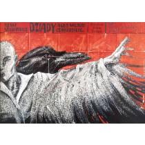 Totenfeier Bolesław Polnar Polnische Plakate