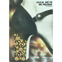 Alice lebt hier nicht mehr Elżbieta Procka Polnische Plakate