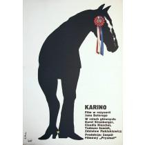 Karino Elżbieta Procka Polnische Plakate
