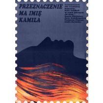 Schicksal heißt Kamila Elżbieta Procka Polnische Plakate