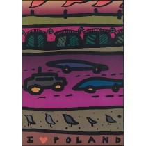 I love Poland Weronika Ratajska Polnische Plakate