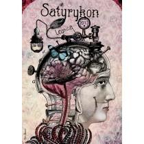 Satyrykon Internationale Wettbewerb Satirischer Zeichnungen Kaja Renkas Polnische Plakate