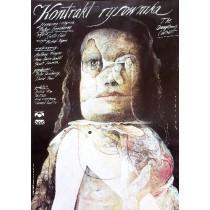 Kontrakt des Zeichners Peter Greenaway Wiktor Sadowski Polnische Plakate