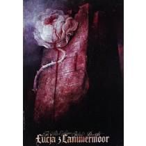 Lucia di Lammermoor Gaetano Donizetti  Polnische Plakate
