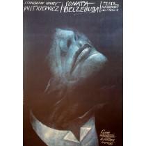 Belzebub Sonata Stanis?aw Ignacy Witkiewicz Wiktor Sadowski Polnische Plakate