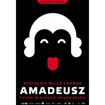 Amadeus Milos Forman Joanna Górska Jerzy Skakun Polnische Plakate