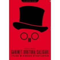 Cabinet des Dr. Caligari Robert Wiene Joanna Górska Jerzy Skakun Polnische Plakate