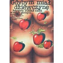 If I Had a Girl Stefan Uher Romuald Socha Polnische Plakate