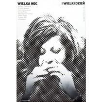 Große Nacht, großer Tag Romuald Socha Polnische Plakate