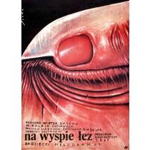 Auf der Insel der Tränen Romuald Socha Polnische Plakate